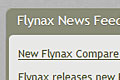 Flynax News Feed box as sampel