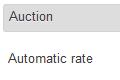 Shipping settings in Admin Panel