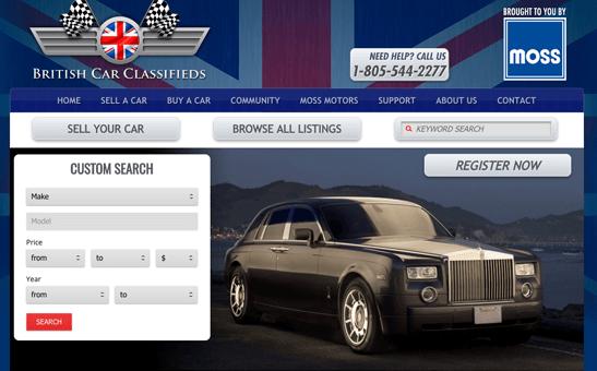 www.britishcarclassifieds.com